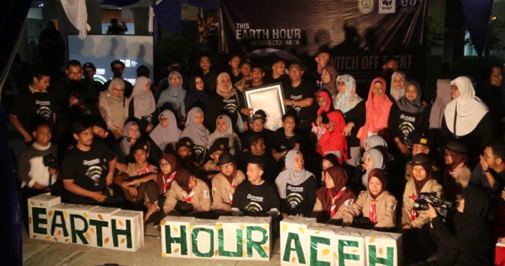 Earth Hour Aceh 2019: Kampanye Hemat Listrik dan Jaga Satwa