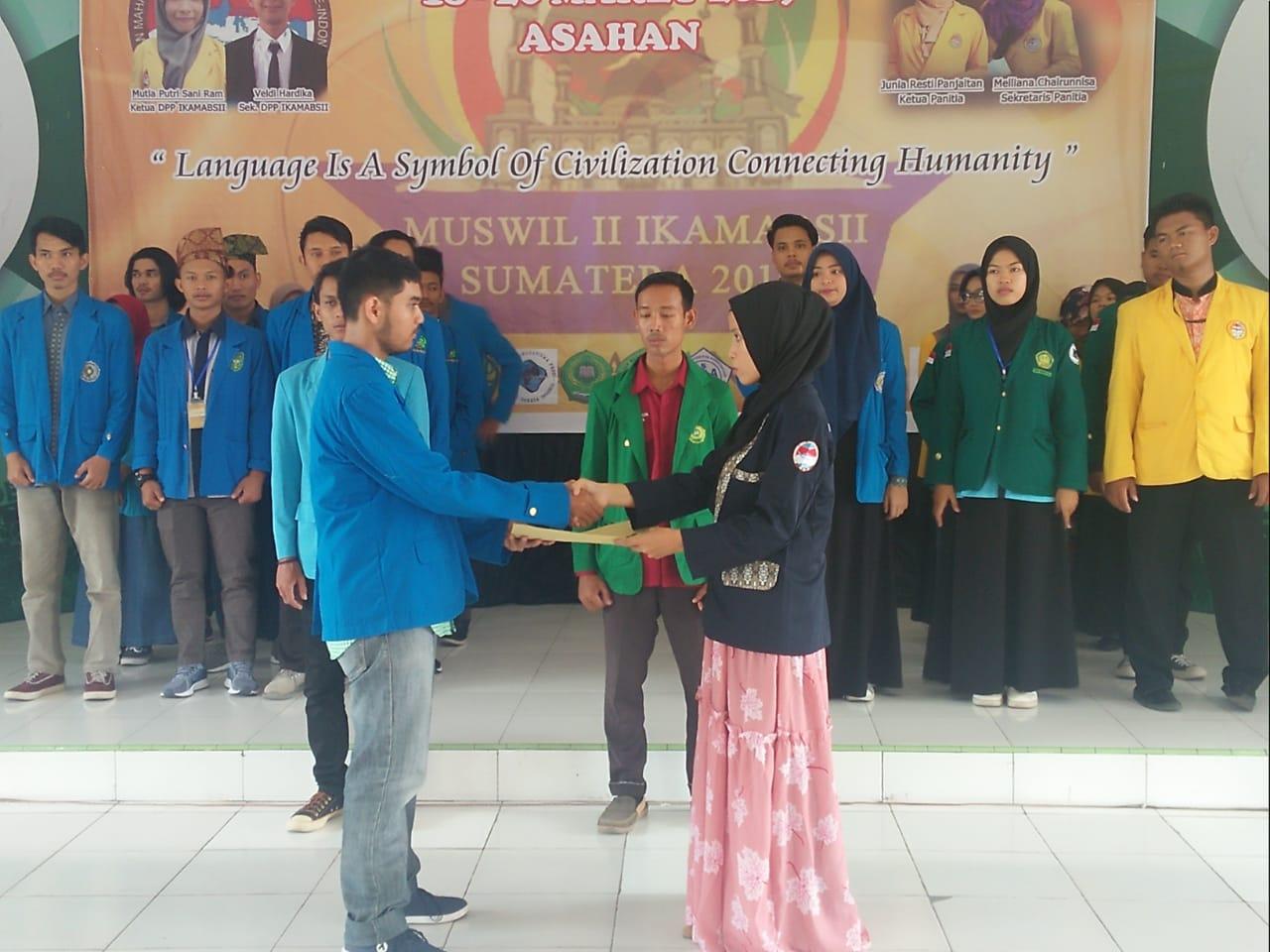 Mahasiswa PBI Ketuai DPW Ikatan Mahasiswa Sastra Inggris Indonesia