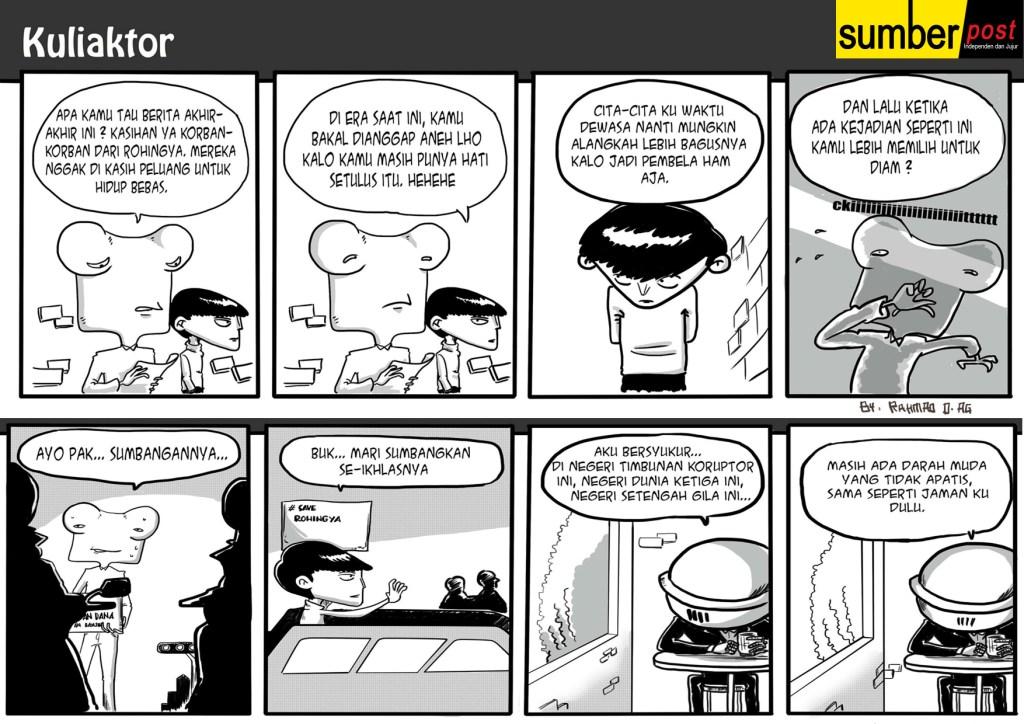 Komik | Amal Untuk Rohingya