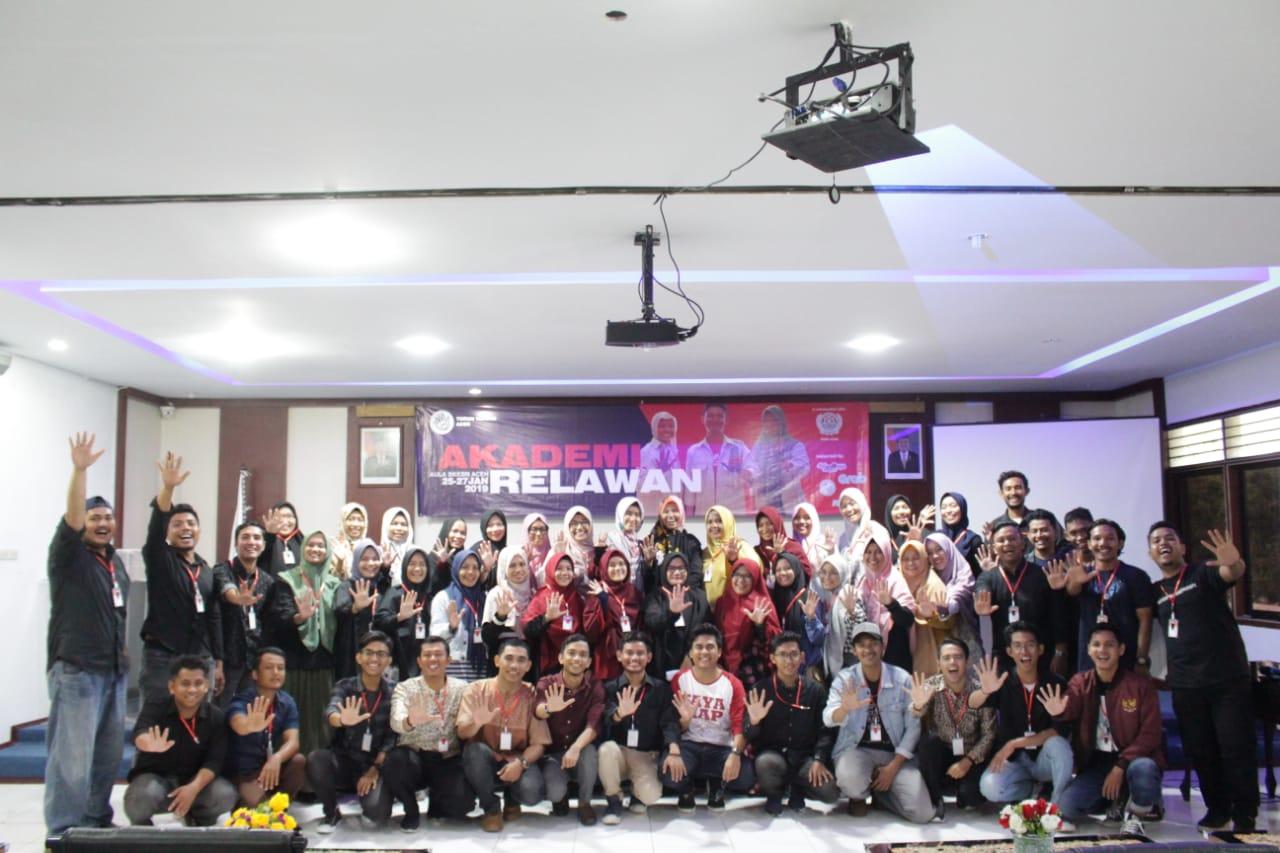 Turun Tangan Aceh Gelar Akademi Relawan Se-Aceh 2019