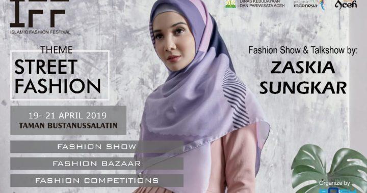 Zaskia Sungkar Akan Meriahkan IFF 2019