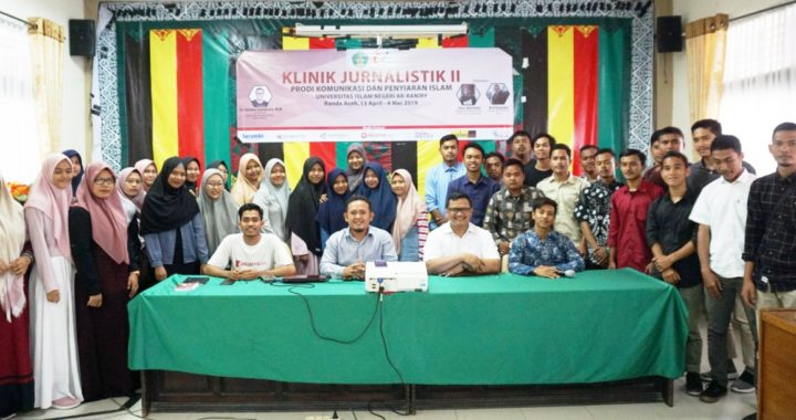 Prodi Komunikasi Penyiaran Islam UIN Gelar Klinik Jurnalistik II